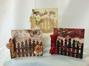 Mariposa Garden Gate cards